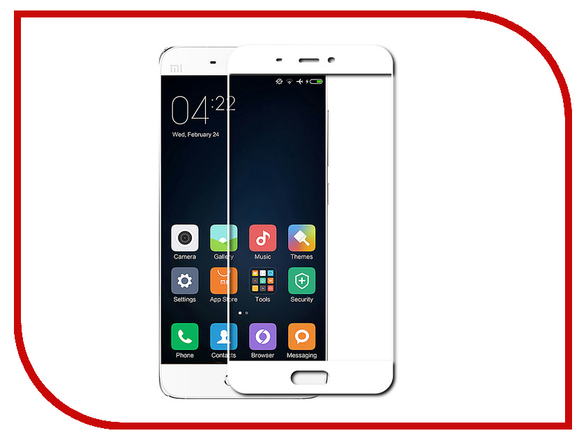 Аксессуар Защитное стекло Xiaomi Mi5S Zibelino TG Full Screen 0.33mm 2.5D White ZTG-FS-XMI-Mi5S-WHT аксессуар защитное стекло huawei nova lite 2017 zibelino tg full screen 0 33mm 2 5d white ztg fs hua nov lit wht