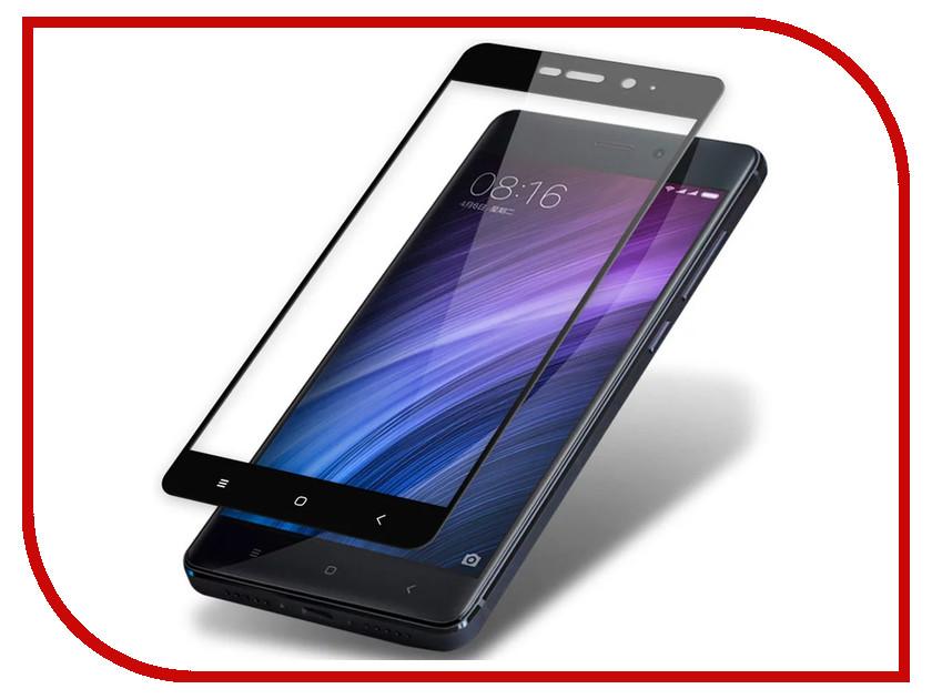 Аксессуар Защитное стекло Xiaomi Redmi 3/3s/3x/3 Pro Zibelino TG Full Screen 0.33mm 2.5D Black ZTG-FS-XMI-RDM3-BLK аксессуар чехол xiaomi redmi pro zibelino classico black zcl xia pro blk