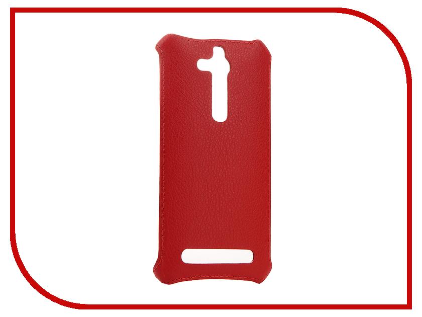 Аксессуар Чехол-накладка ASUS ZB500KL Zenfone GO Zibelino Cover Back Red ZCB-ASU-ZB500KL-RED аксессуар чехол накладка asus zb500kg zenfone go zibelino cover back dark blue zcb asu zb500kg dblu