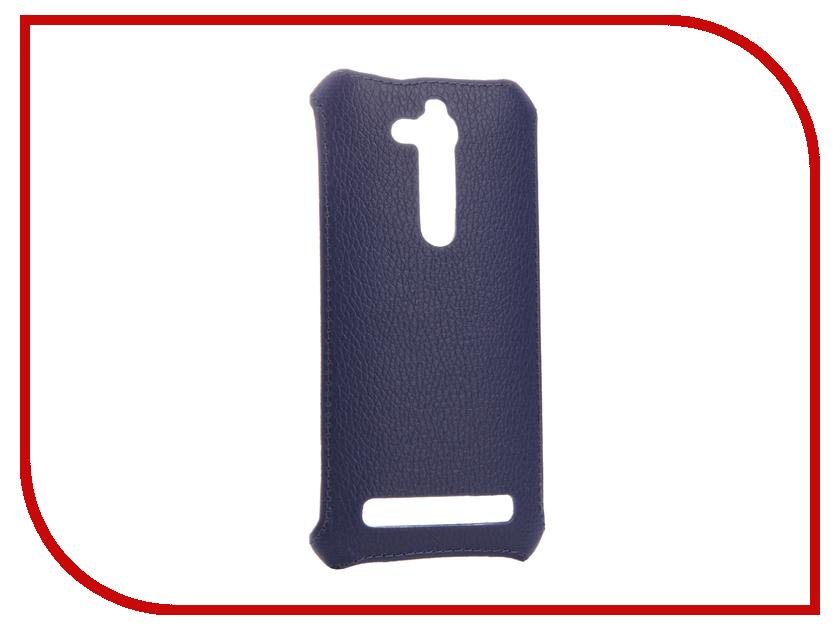 Аксессуар Чехол-накладка ASUS ZB500KG Zenfone GO Zibelino Cover Back Dark Blue ZCB-ASU-ZB500KG-DBLU аксессуар чехол asus zenfone go zb500kg zibelino classico black zcl asu zb500kg blk