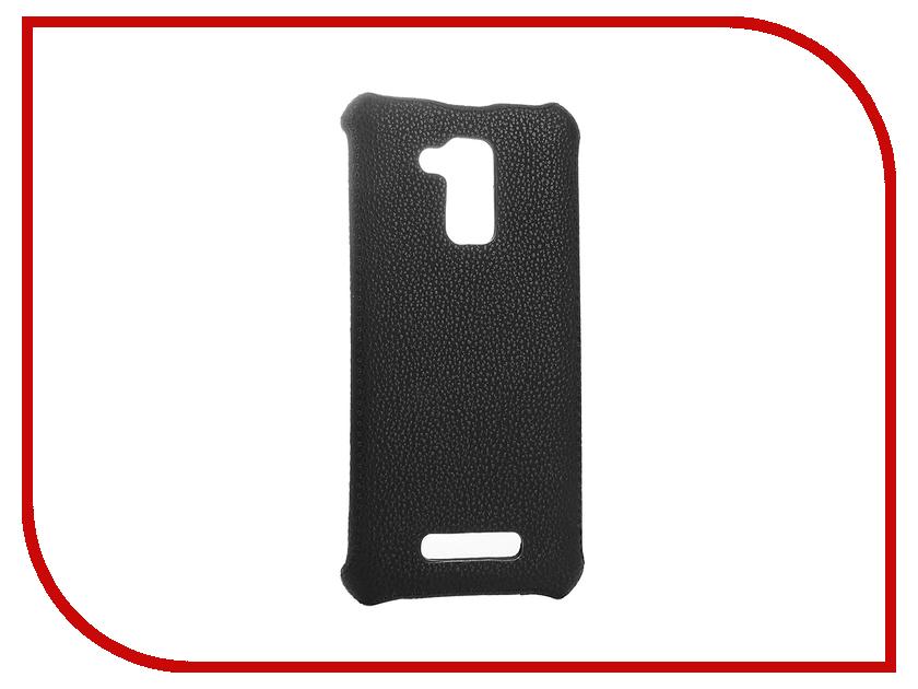Аксессуар Чехол-накладка ASUS ZC520TL Zenfone 3 MAX Zibelino Cover Back Black ZCB-ASU-ZC500TL-BLK аксессуар чехол lenovo k10 vibe c2 k10a40 zibelino classico black zcl len k10a40 blk