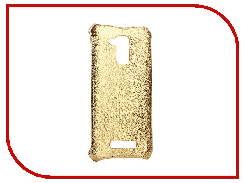 Аксессуар Чехол-накладка ASUS ZC520TL Zenfone 3 MAX Zibelino Cover Back Gold ZCB-ASU-ZC500TL-GLD аксессуар чехол накладка asus zb500kg zenfone go zibelino cover back black zcb asu zb500kg blk