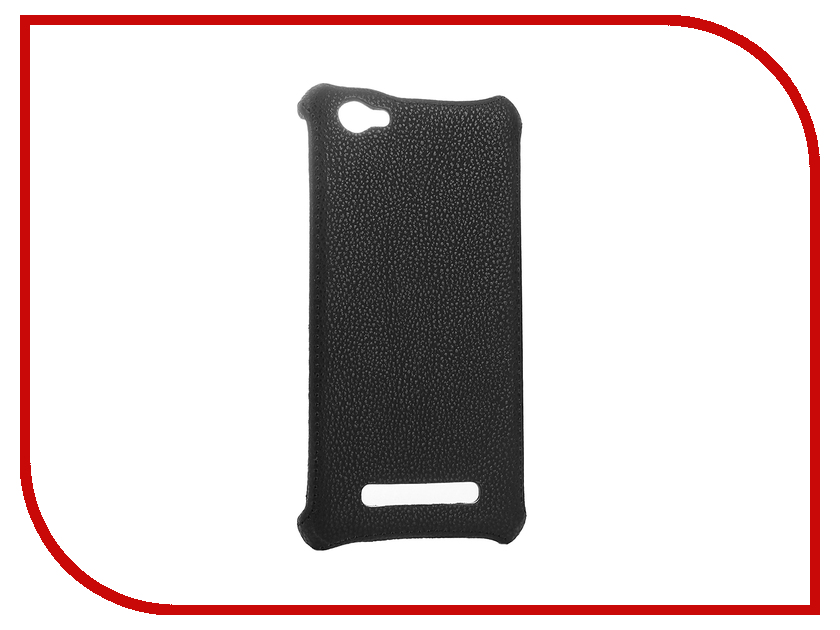 Аксессуар Чехол-накладка Philips S326 Zibelino Cover Back Black ZCB-PHL-S326-BLK