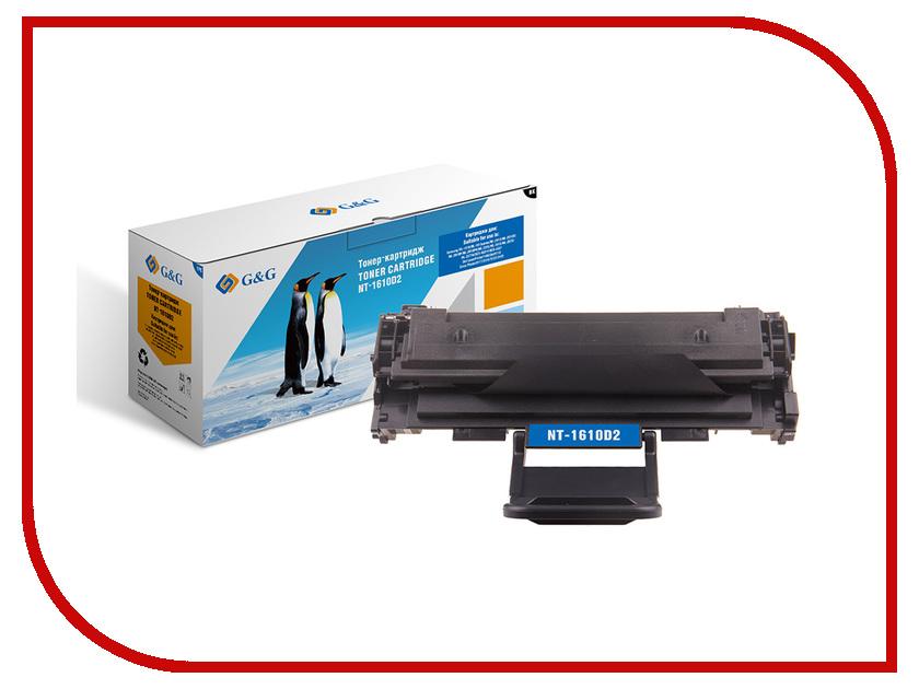 Картридж G&G NT-1610D2 для Samsung ML-1610/2010/2510 SCX-4521/Xerox 3117/3124/3125