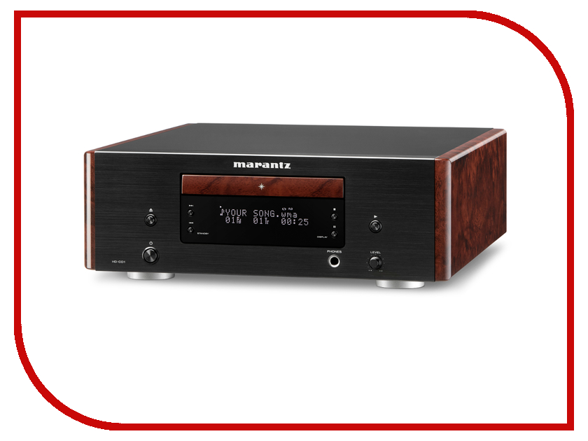 CD-проигрыватель Marantz HD-CD1 сетевой аудио проигрыватель marantz na8005 black