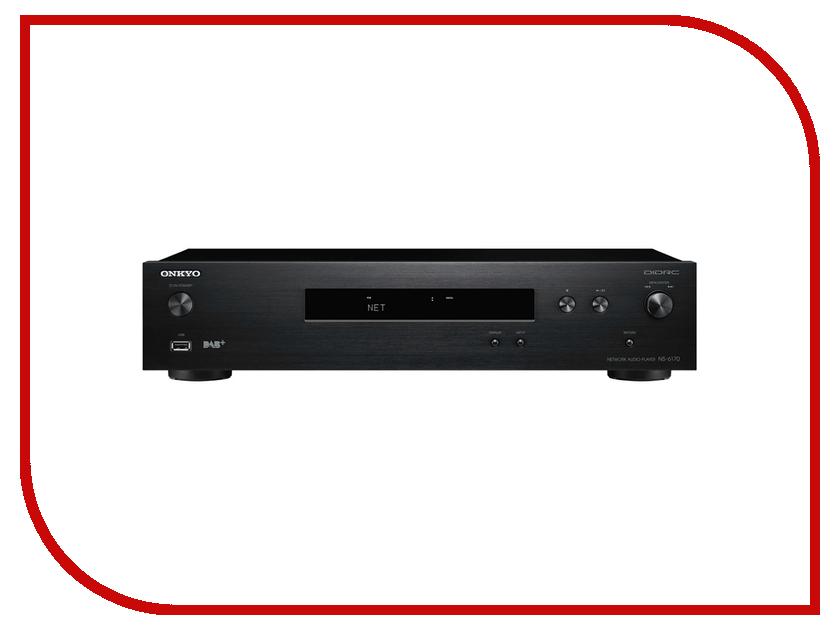 Сетевой аудио проигрыватель Onkyo NS-6170 Black колонка полочная onkyo skh 410 black