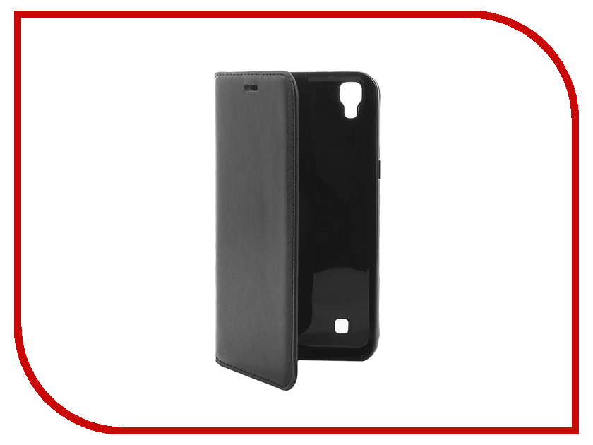 Аксессуар Чехол LG X Power Cojess Book Case New Black с визитницей<br>