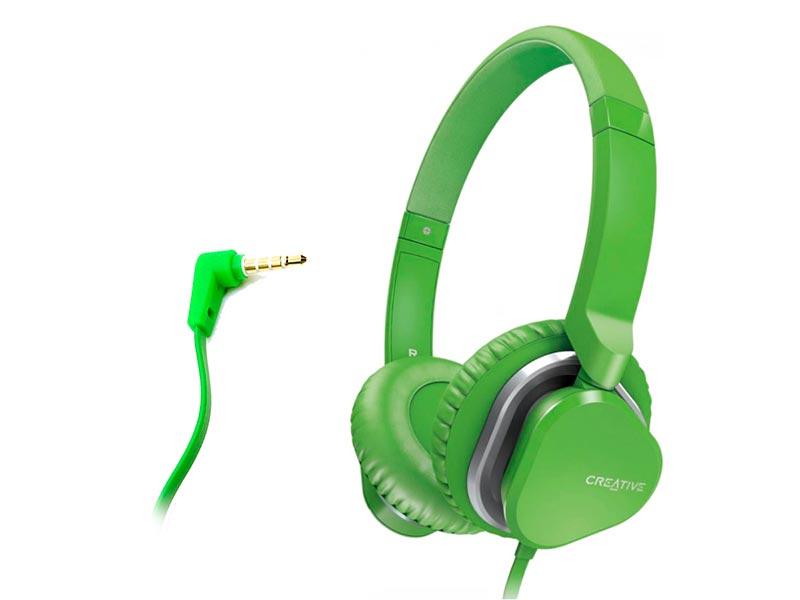 Наушники Creative Hitz MA2400 Green 51EF0640AA007