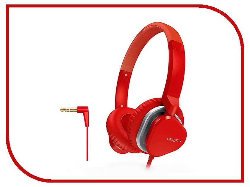 Гарнитура Creative Hitz MA2400 Red