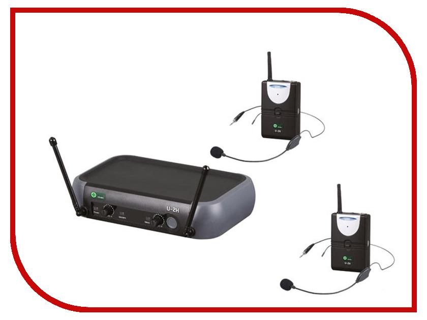 Радиомикрофон Eco by Volta U-2H (725.80/710.20)<br>
