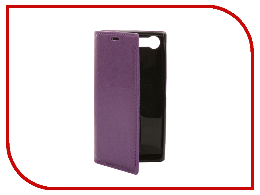 Аксессуар Чехол Sony Xperia X Compact Cojess Book Case New Вид №1 Purple с визитницей