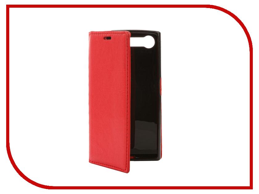 Аксессуар Чехол Sony Xperia X Compact Cojess Book Case New Вид №1 Red с визитницей
