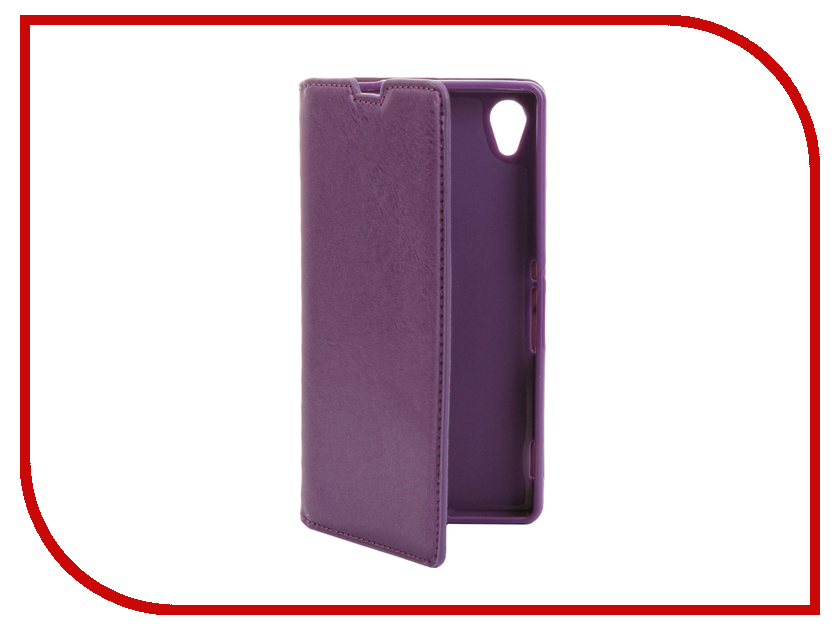 Аксессуар Чехол Sony Xperia M4 Aqua E2306 / E2303 Cojess Book Case New Purple с визитницей