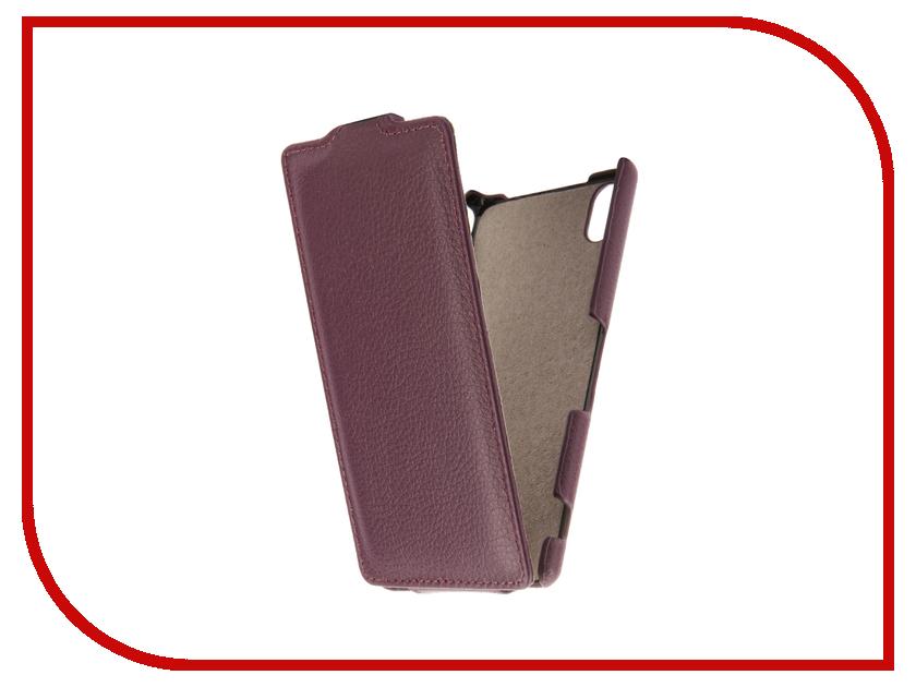 Аксессуар Чехол Sony Xperia M4 Aqua E2306 / E2303 Cojess UpCase Purple аксессуар чехол sony xperia m4 aqua e2306 e2303 cojess book case time black