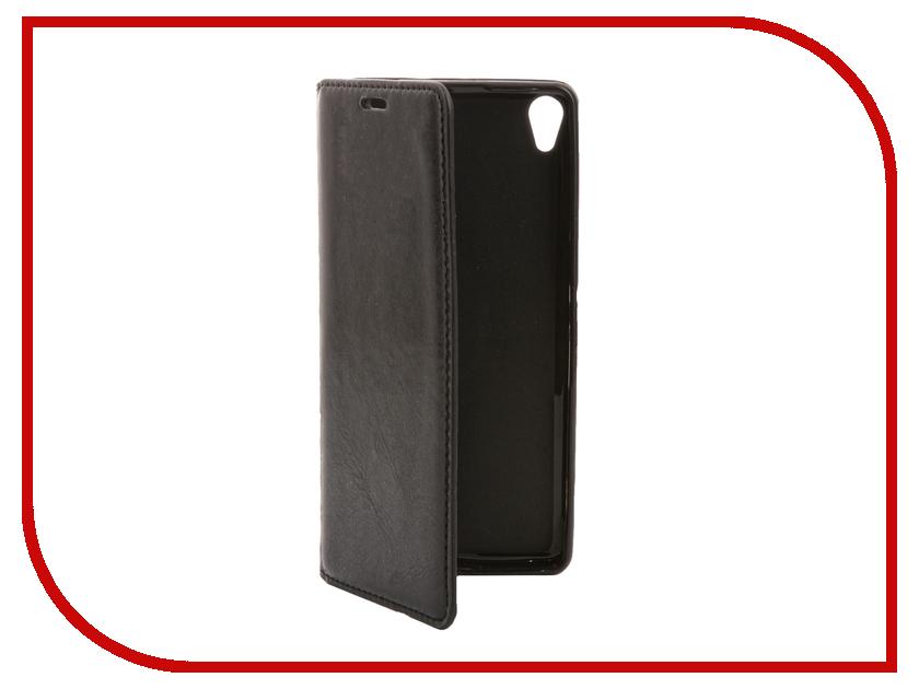 Аксессуар Чехол Sony Xperia XA / XA Dual Cojess Book Case New Black с визитницей<br>
