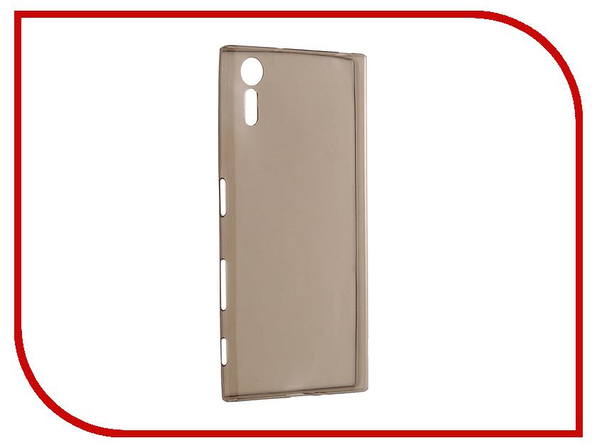 Аксессуар Чехол Sony Xperia XZ Cojess Silicone TPU 0.3mm Grey