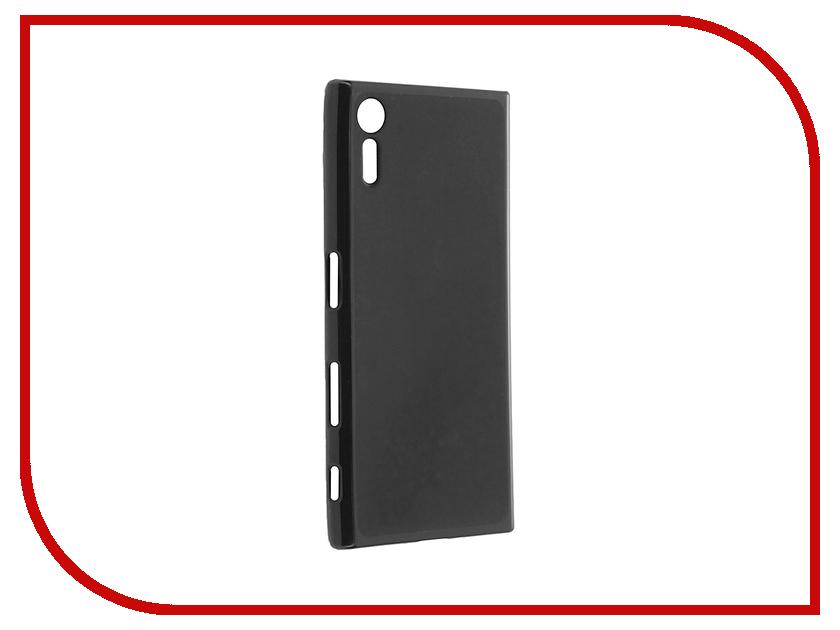 Аксессуар Чехол Sony Xperia XZ Cojess Silicone TPU X 0.8mm Black Mate аксессуар чехол sony xperia x melkco black 12779