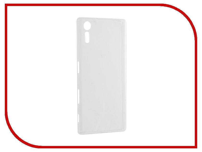 Аксессуар Чехол Sony Xperia XZ Cojess Silicone TPU 0.3mm Transparent