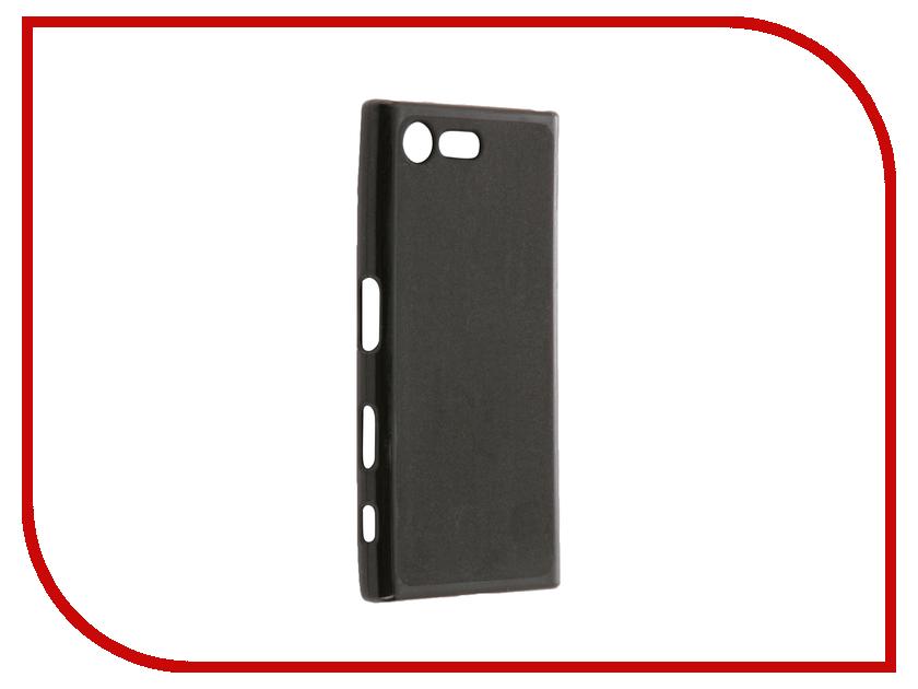 Аксессуар Чехол Sony Xperia X Compact Cojess Silicone TPU X 0.8mm Black Mate аксессуар чехол samsung galaxy a3 2017 cojess tpu 0 3mm transparent