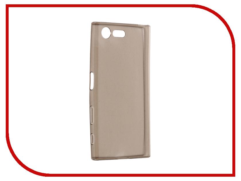 Аксессуар Чехол Sony Xperia X Compact Cojess Silicone TPU 0.3mm Grey аксессуар чехол sony xperia x dual melkco tpu матовый transparent 12590