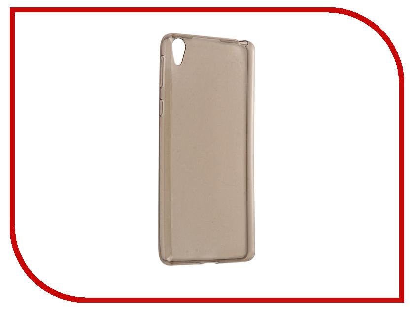 Аксессуар Чехол Sony Xperia E5 Cojess Silicone TPU 0.3mm Grey<br>