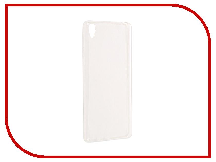 Аксессуар Чехол Sony Xperia E5 Cojess Silicone TPU 0.3mm Transparent аксессуар чехол samsung galaxy a3 2017 cojess tpu 0 3mm transparent