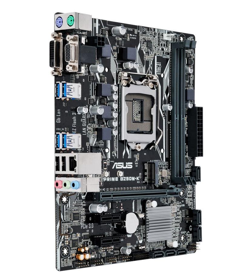 Материнская плата ASUS Prime B250M-K блок питания luna ps led 12v 24w dc ip 44 50164