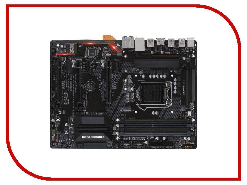 Материнская плата GigaByte GA-Z270XP-SLI gigabyte ga z170x ud5 th