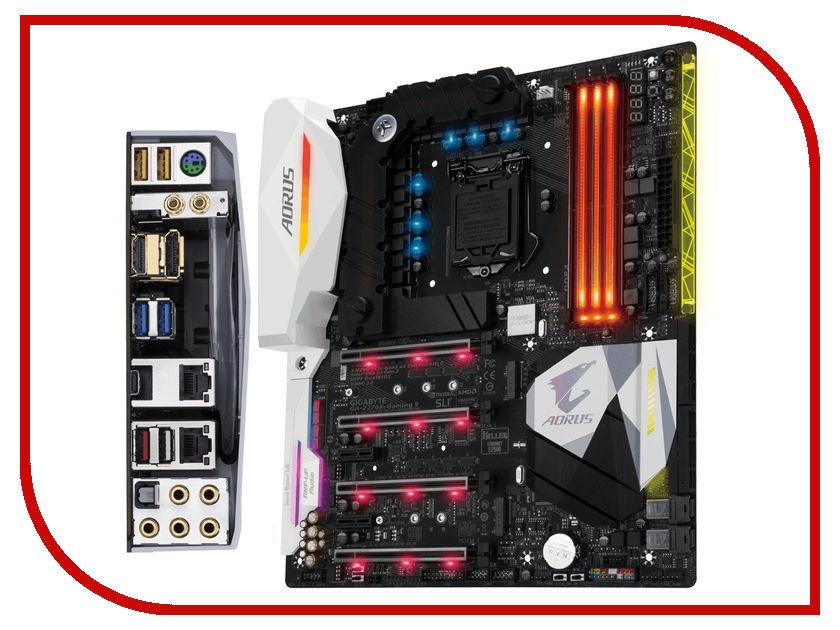 Материнская плата GigaByte GA-Z270X-Gaming 9<br>