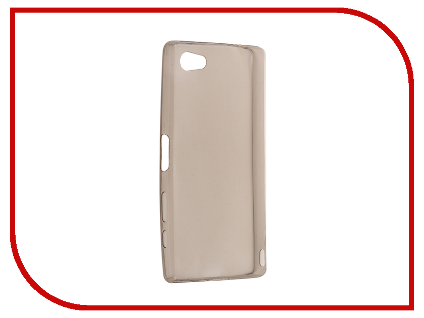 Аксессуар Чехол Sony Xperia Z5 Compact / Z5 Mini Cojess Silicone TPU 0.3mm Grey<br>