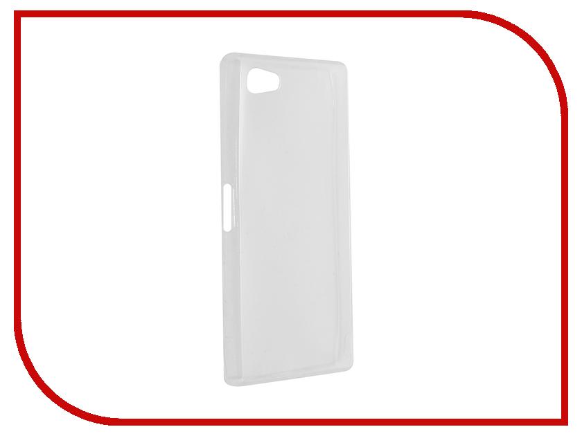 Аксессуар Чехол Sony Xperia Z5 Compact / Z5 Mini Cojess Silicone TPU 0.3mm Transparent<br>
