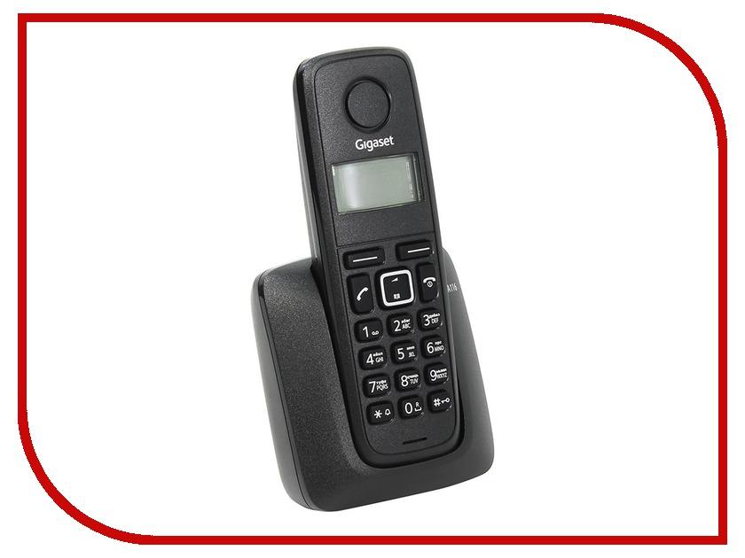 Радиотелефон Gigaset A116 радиотелефон gigaset sl450 sys