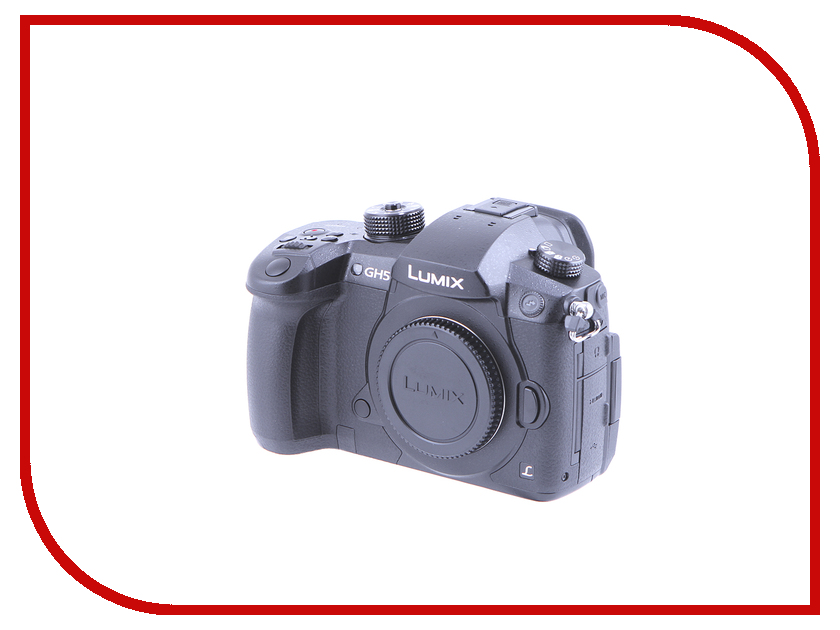 Фотоаппарат Panasonic DC-GH5 Lumix Body щипцы panasonic eh hv51 k865 50вт eh hv51 k865