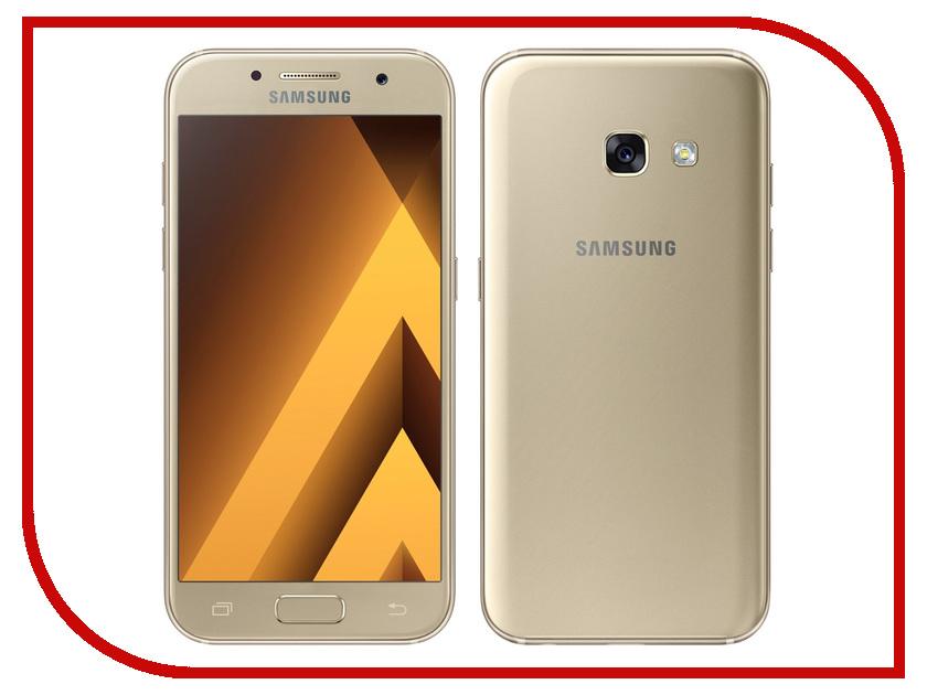 Сотовый телефон Samsung SM-A320F Galaxy A3 (2017) Gold samsung galaxy a3 2016 sm a310f pink gold