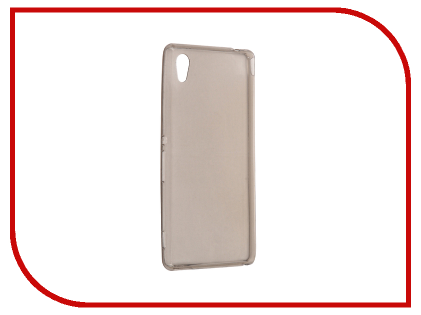 Аксессуар Чехол Sony Xperia M4 Aqua E2306 / E2303 Cojess Silicone TPU 0.3mm Grey аксессуар чехол microsoft lumia 650 cojess tpu 0 3mm grey