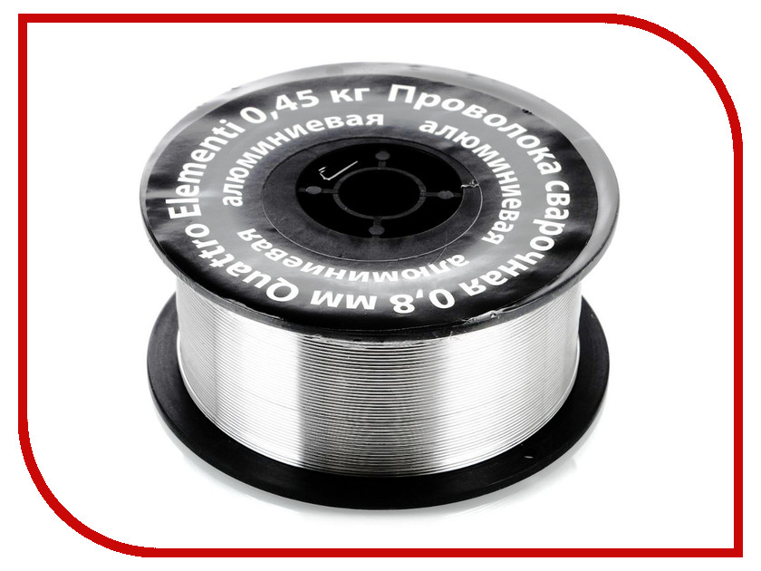 Аксессуар Проволока сварочная Quattro Elementi алюминиевая 0.8mm 0.45kg 770-391