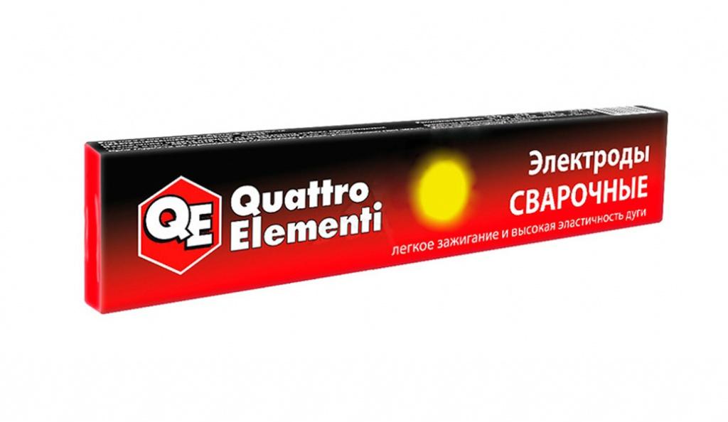 Электроды Quattro Elementi 2.5mm 3.0kg 772-173 набор пневмоинструмента quattro elementi 3 предмета 772 128