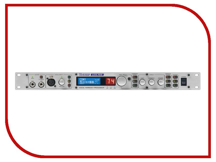 Вокальный процессор Digitech VLP Vocalist Live Pro вокальный процессор roland vp 03