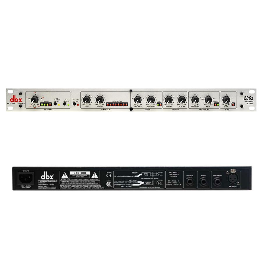 Аудиоинтерфейс DBX 286S микрофонный предусилитель