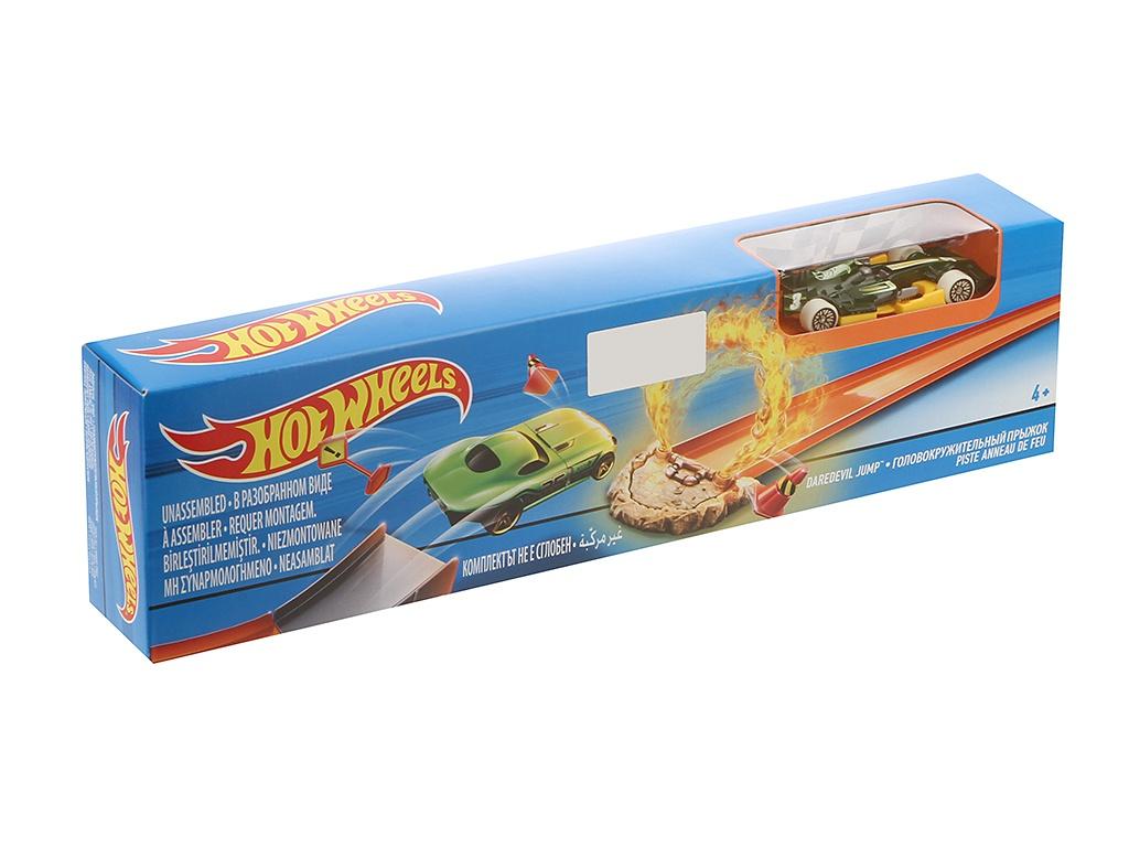 Автотрек Mattel Hot Wheels DNN77 mattel автотрек hot wheels бросок кобры
