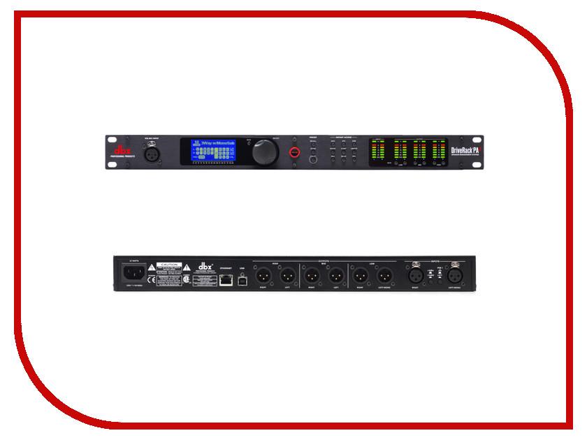 Вокальный процессор Спикер-процессор DBX DriveRack PA2 вокальный процессор boss ve 500