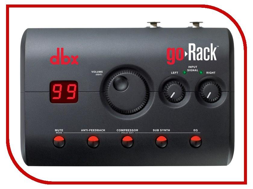 Аксессуар DBX goRack 2x2 PA спикер-процессор