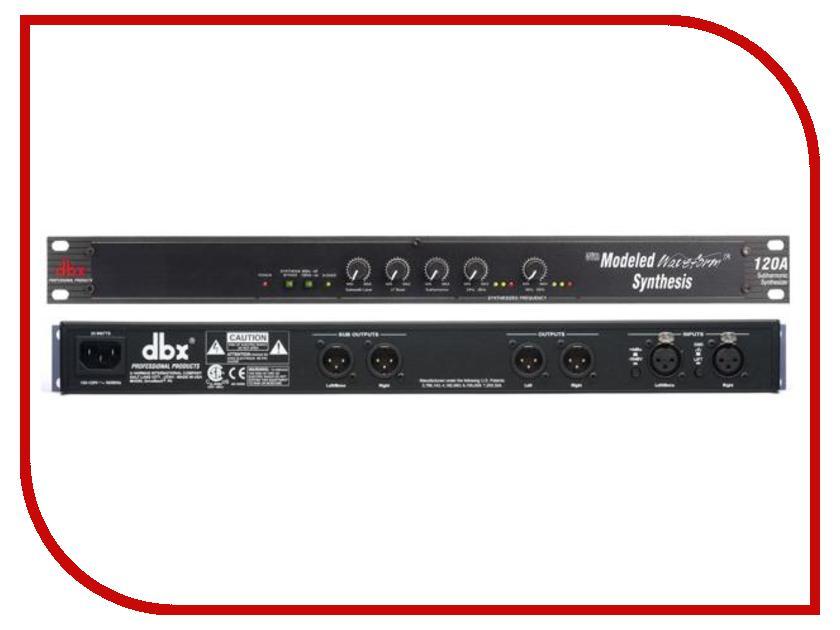Синтезатор DBX 120A dbx 160ad