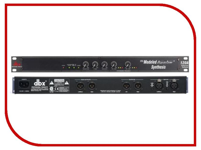 Синтезатор DBX 120A контроллер акустических систем dbx driverack pa 2