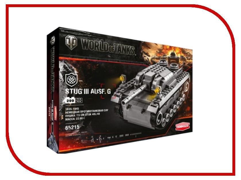 Игрушка Конструктор ZORMAER World of Tanks Stug III Ausf G 65215 world of tanks официальный сайт золото за смс