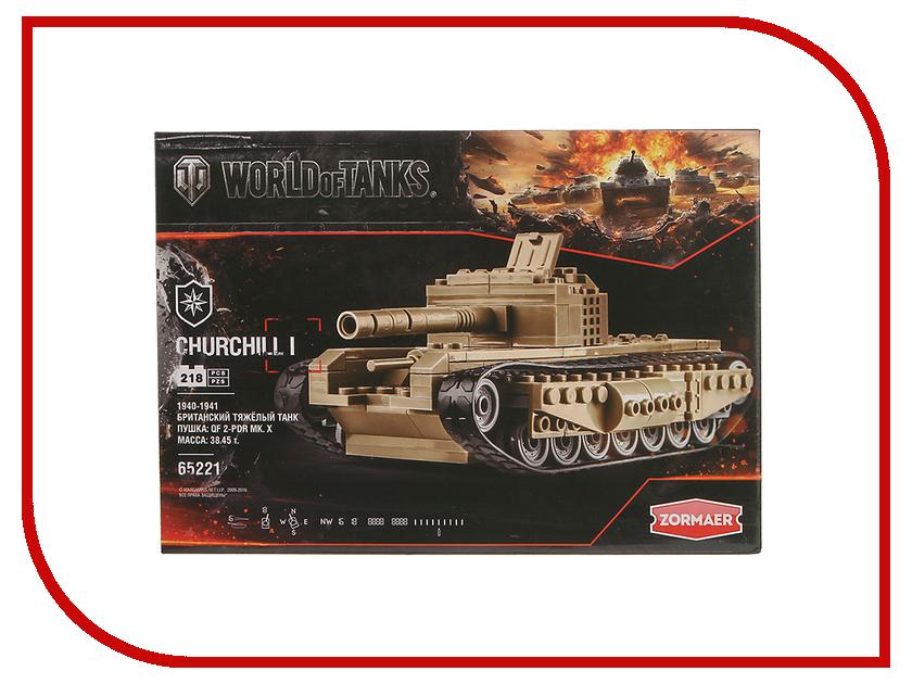 Игрушка Конструктор ZORMAER World of Tanks 65302<br>