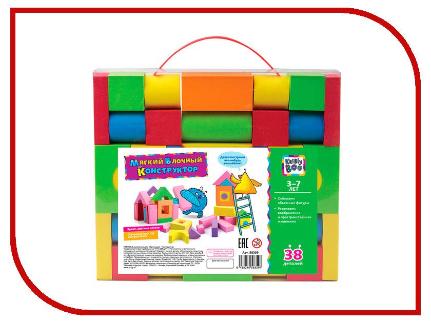 Игрушка KriBly Boo 58359 kribly boo мягкая игрушка песик спорт 4 сказки