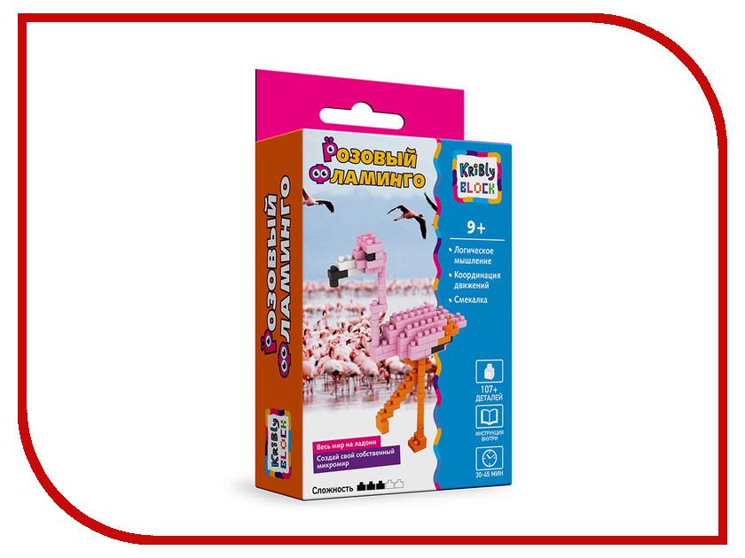 Конструктор Kribly Block Розовый Фламинго 65247 фламинго тамбов