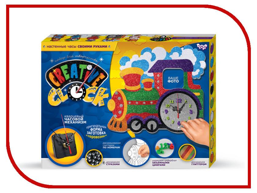 Набор Danko Toys Creative Clock Паравозик CC-01-02
