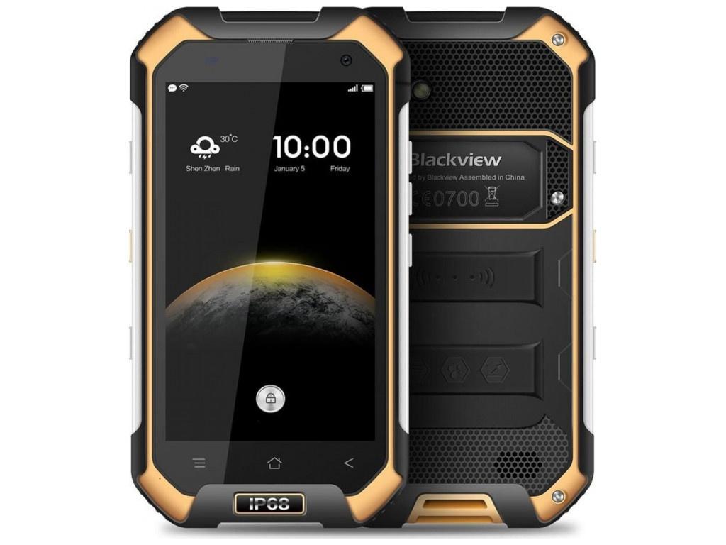 Zakazat.ru: Сотовый телефон Blackview BV6000 Black-Yellow